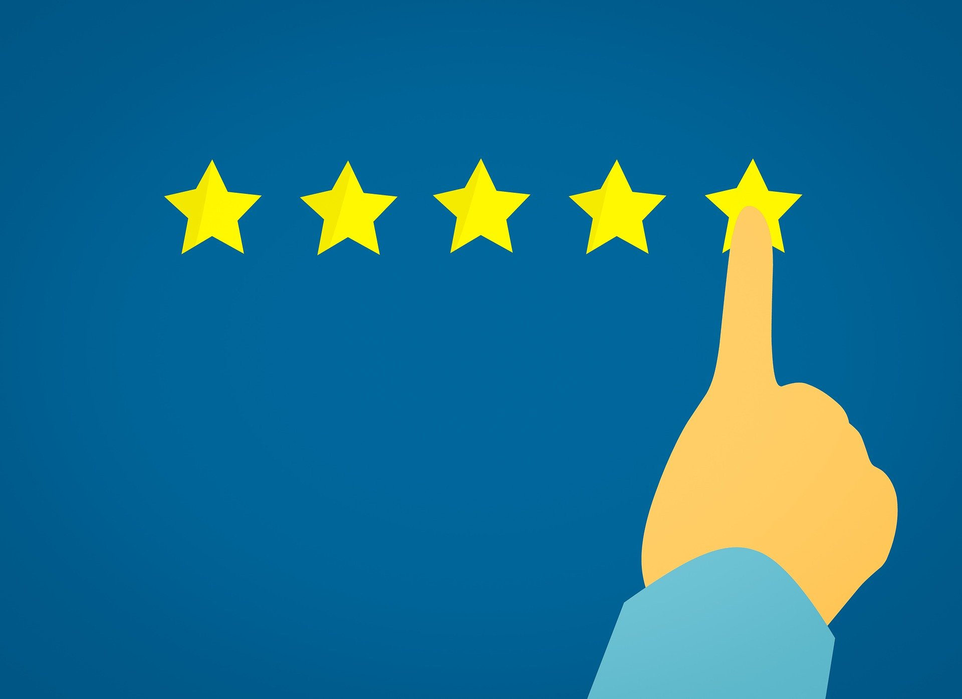 Bewertung Onlineshop